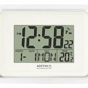 radio controlled digital clock